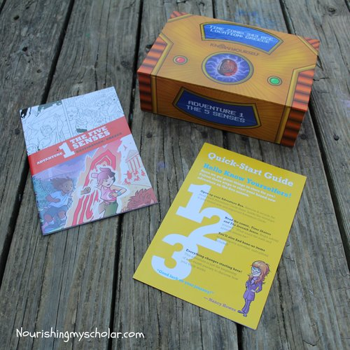 Explore the 5 Senses with the Know Yourself Adventure Series