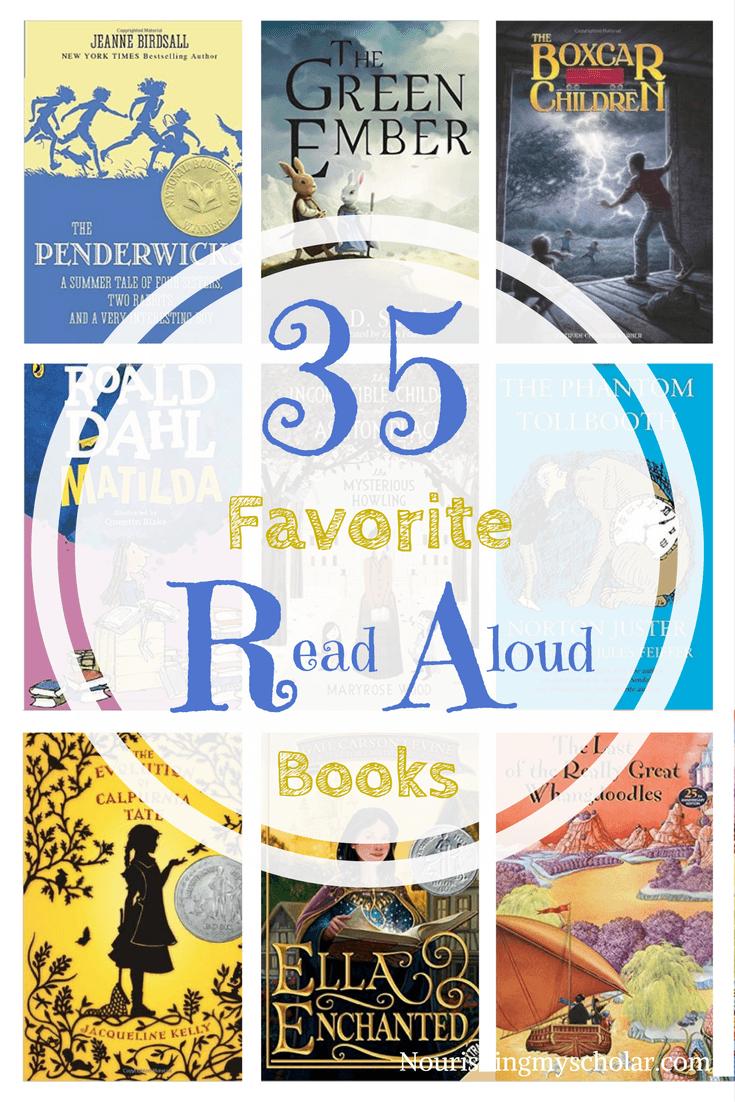 35 Favorite Read Aloud Books