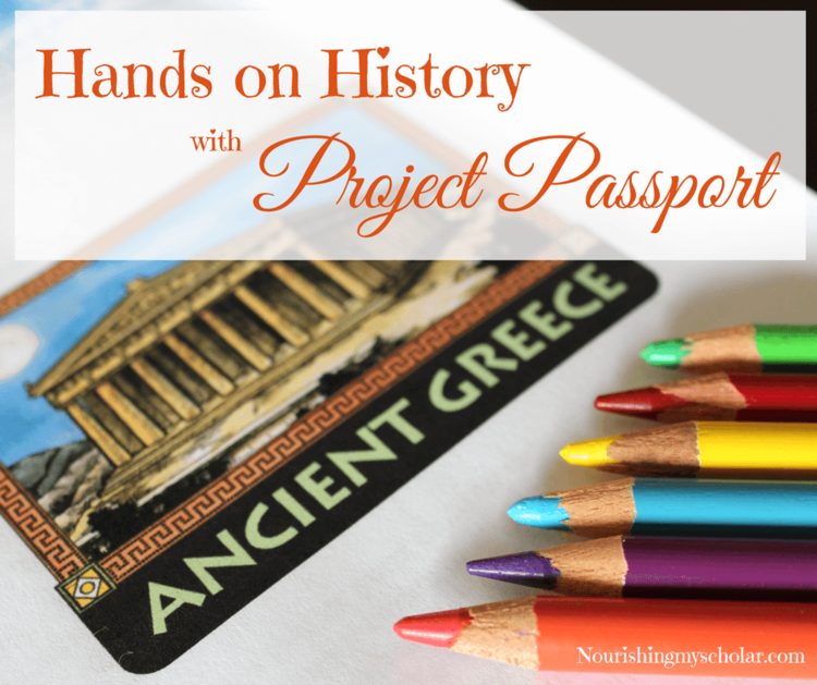 Hands on History with Project Passport