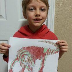 Interest Led Learning: A Prehistoric Boy