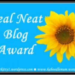 Nourishing My Scholars First Blog Award Nomination