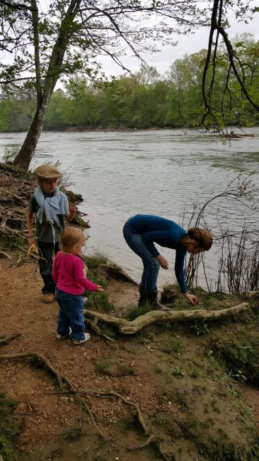 Our Family Hike Along the River