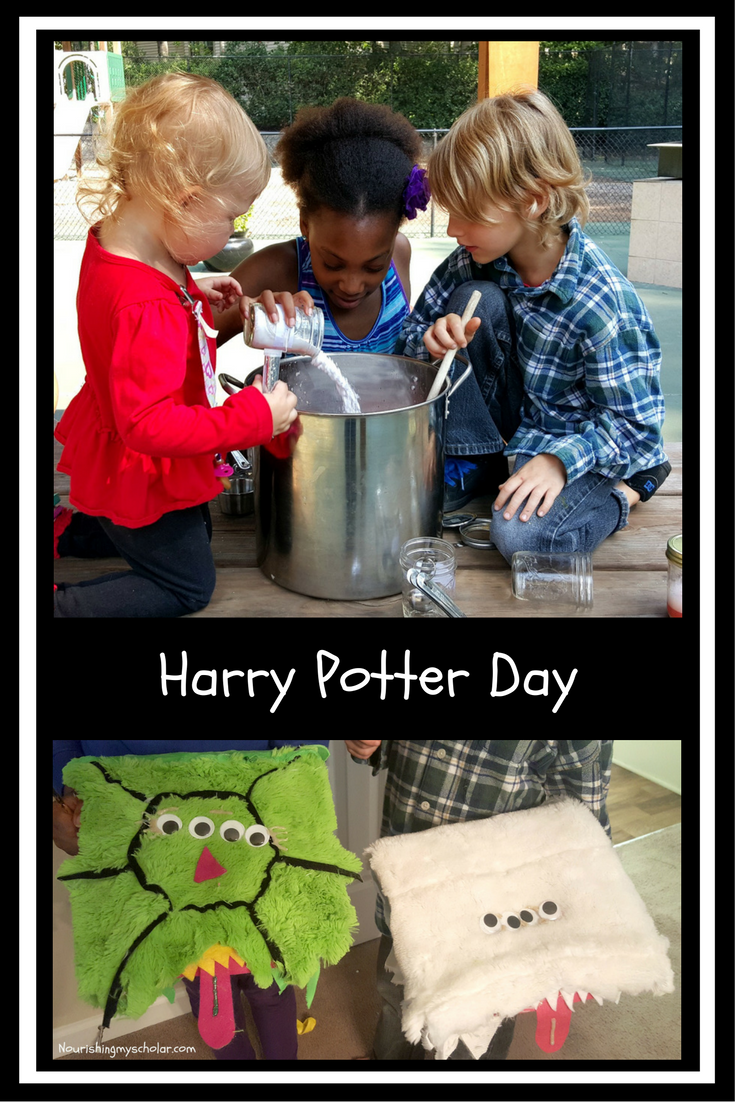 Harry Potter Day Activities for Kids
