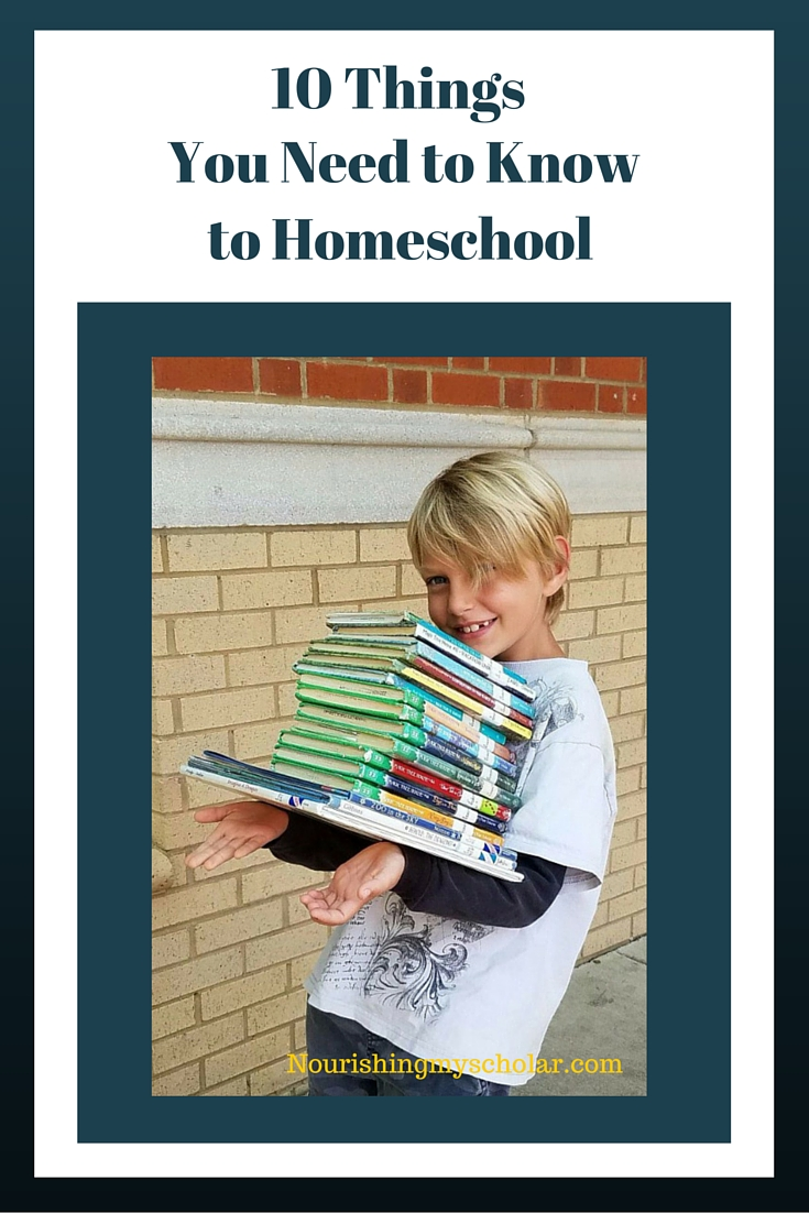 10 Things You Need to Know to Homeschool