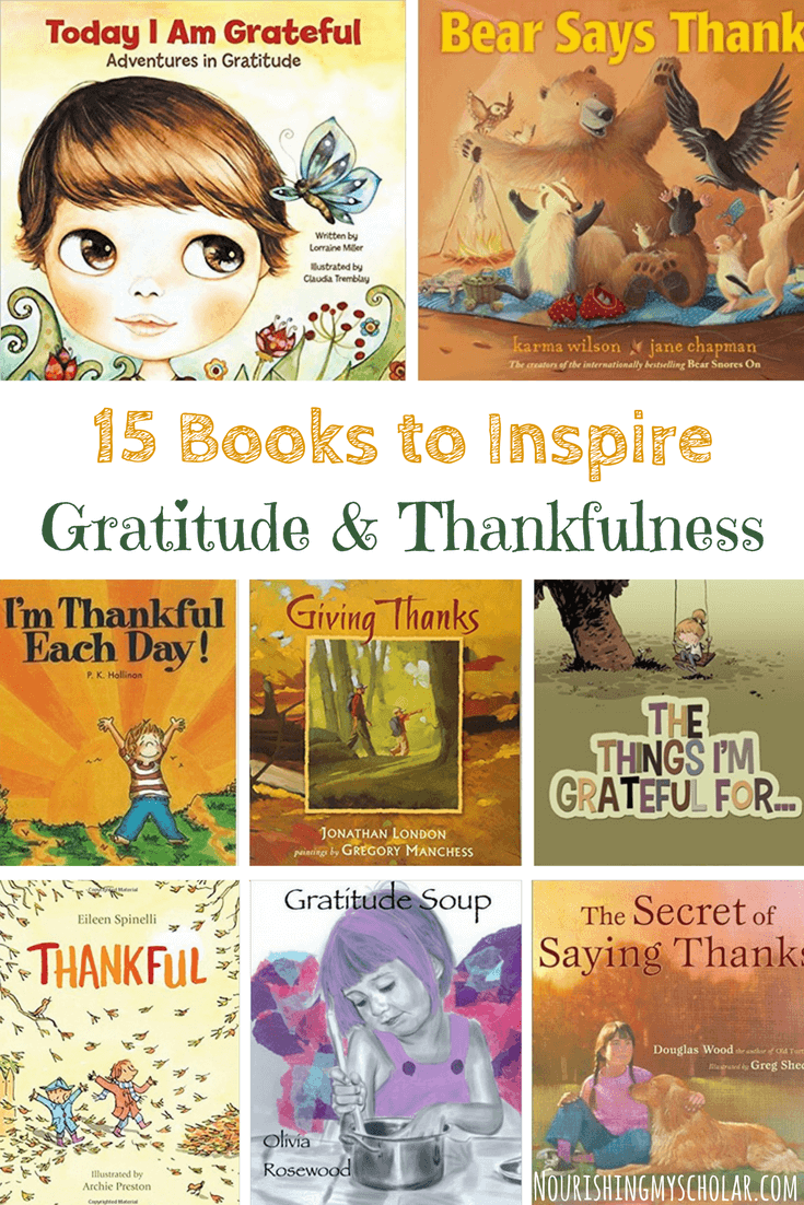 15 Books to Inspire Gratitude and Thankfulness