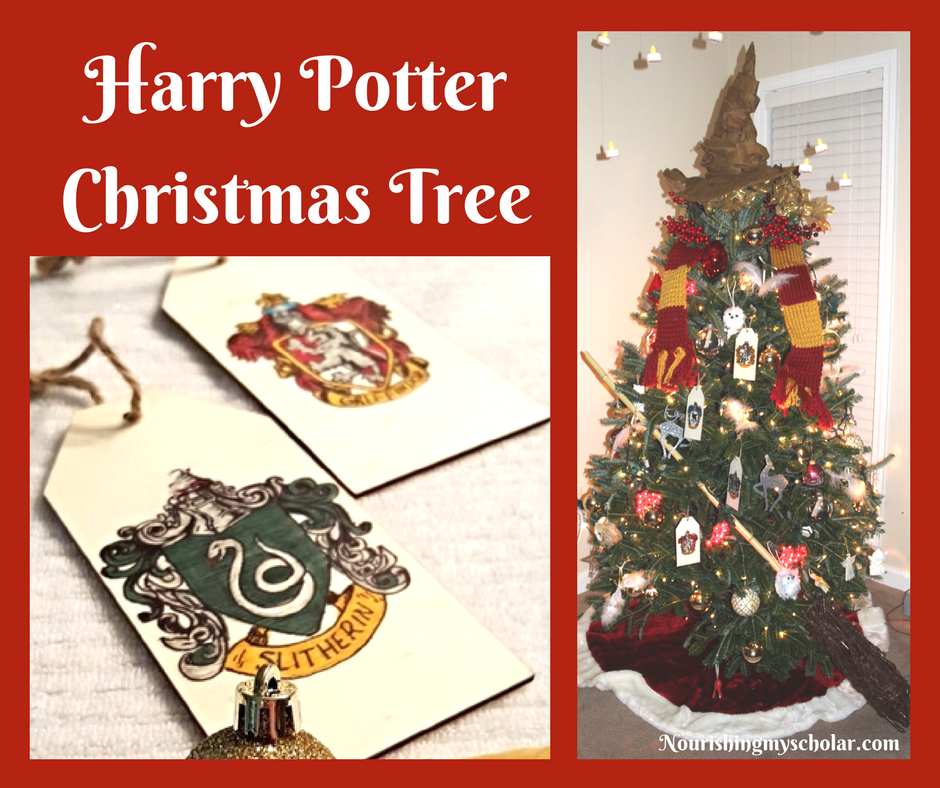harry potter christmas tree nourishing my scholar - Harry Potter Christmas Decorations