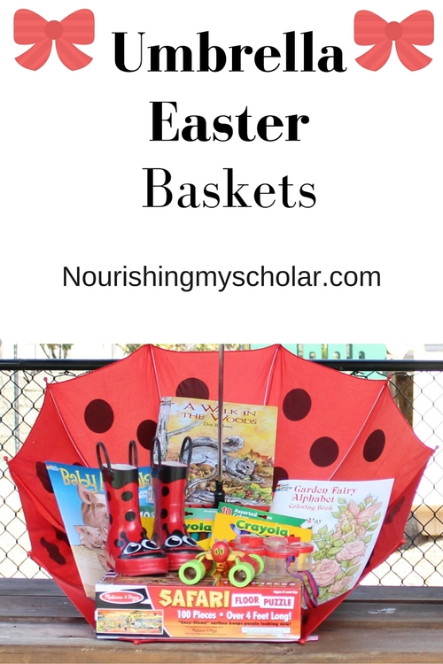 Umbrella Easter Baskets