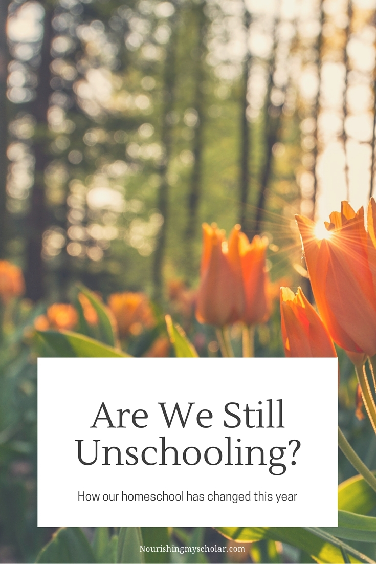 Are We Still Unschooling