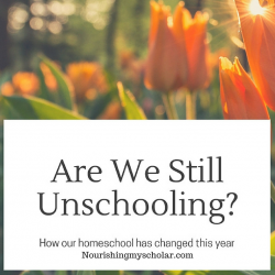 Are We Still Unschooling?