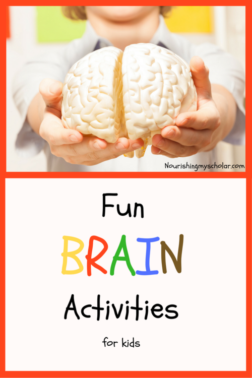 picture about Brain Hat Printable named Entertaining Intellect Things to do for Little ones ~ Nourishing My University student