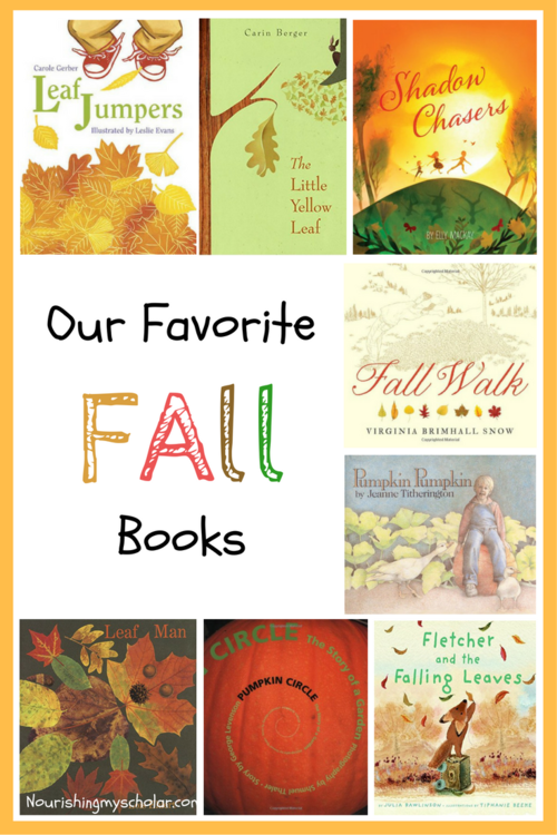 Our Favorite Fall Books: Changes in the seasons results in changes in the seasonal books on our shelves. I hope you enjoy some of our fall favorites!