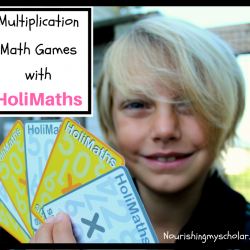 Multiplication Math Games with HoliMaths X