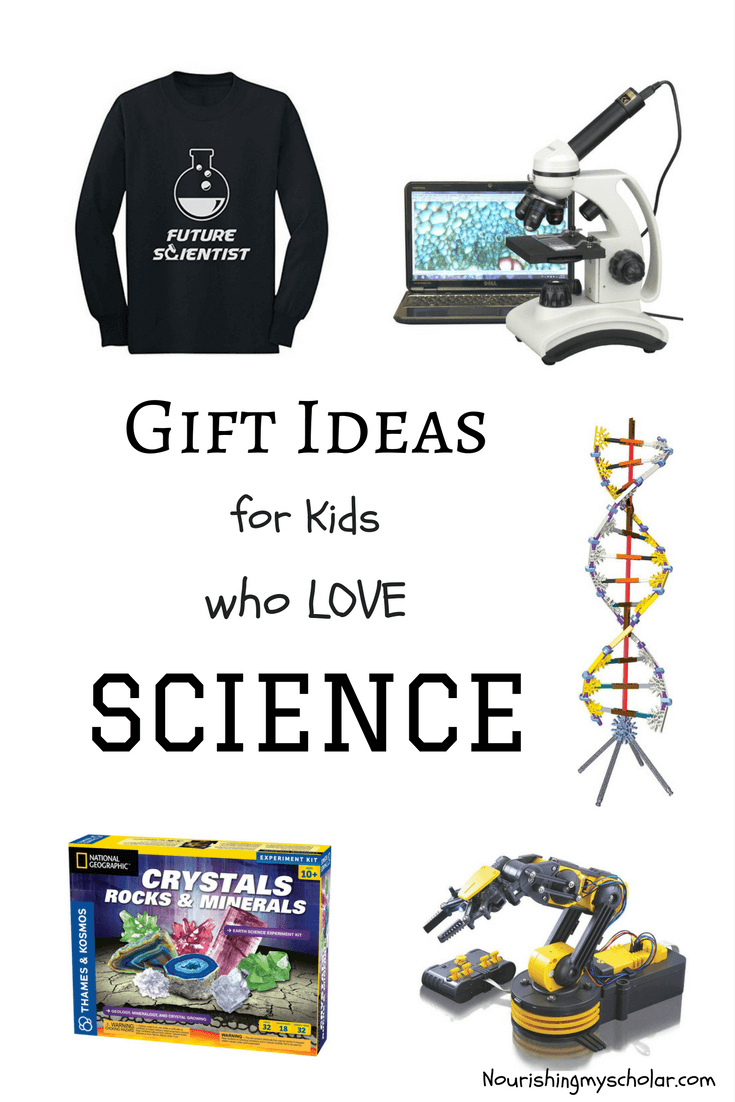 Gift Ideas for Kids who Love SCIENCE: If you're like me and frantically searching for science-related gifts, then search no more. Check out over 60 fantastic holiday gift ideas! #Christmas #giftideas #giftguide #ihsnet #science #sciencegifts