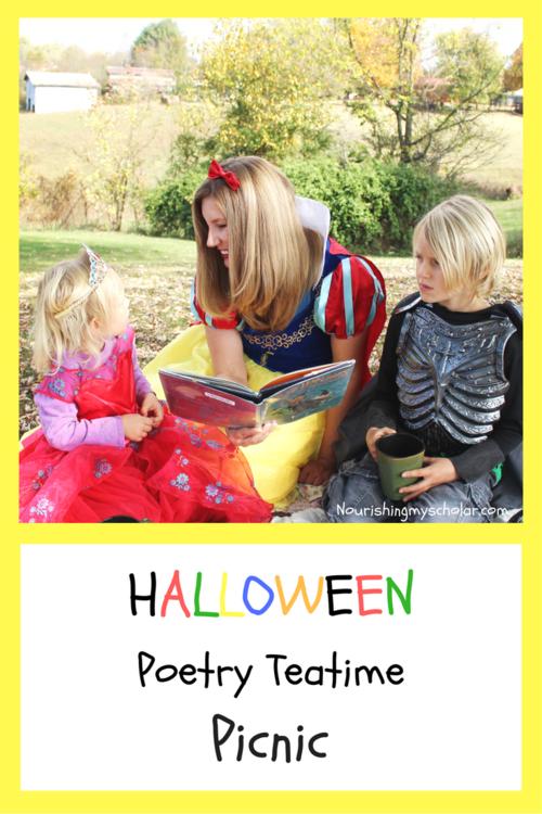 Halloween Poetry Teatime Picnic