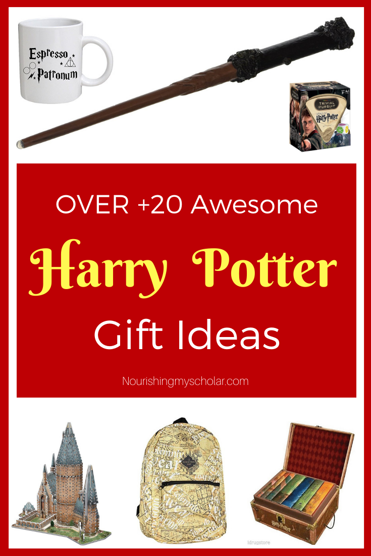 20 Awesome Harry Potter Gift Ideas: Here are over 20 Harry Potter gift ideas that the muggles and wizards in your life are sure to love! They are simply magical! #Christmas #giftideas #HarryPotter #gifts