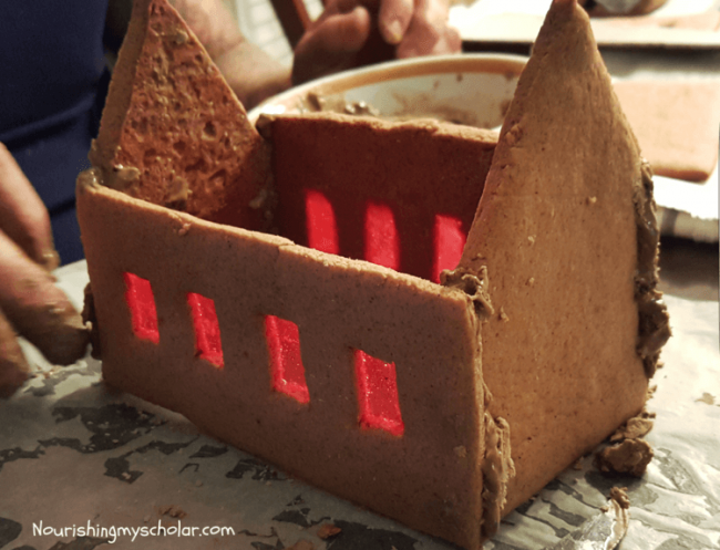 Hogwarts Gingerbread Castle