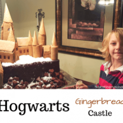 Hogwarts Gingerbread Castle