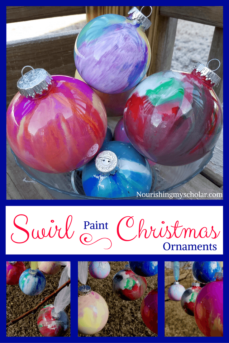 Swirl Paint Christmas Ornaments: Swirl Paint Christmas Ornaments, also known as pour paint ornaments, are a fun and easy activity for children during the holidays. #Christmas #ChristmasOrnaments #Kidfun #kidactivities #pourpaintornaments #swirlpaintornaments #homeschool