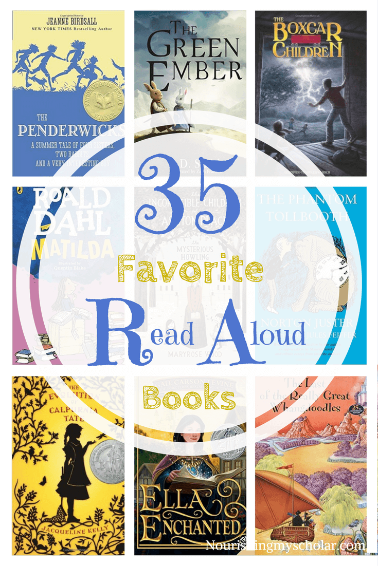 35 Favorite Read Aloud Books