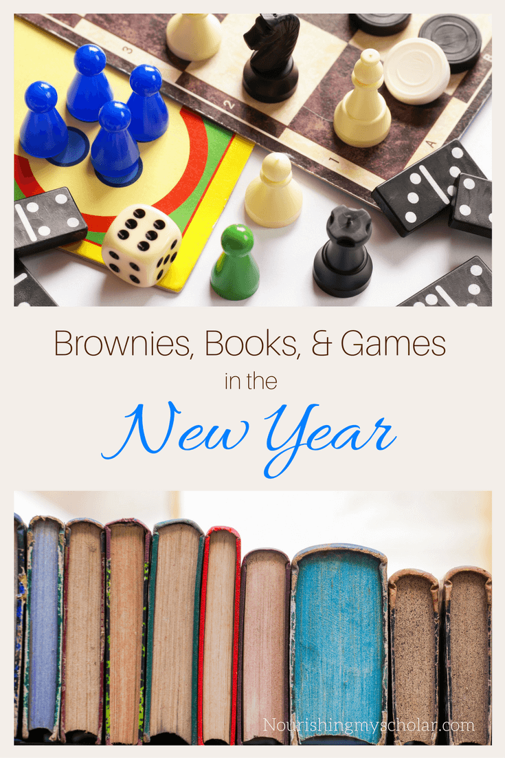 Brownies, Books, and Games in the New Year