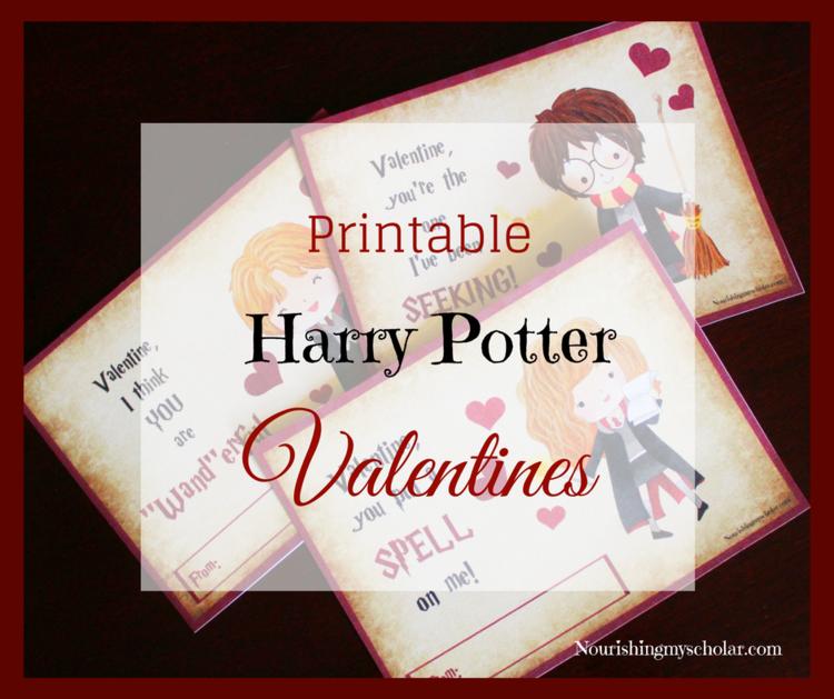 Printable harry potter valentines nourishing my scholar solutioingenieria Images