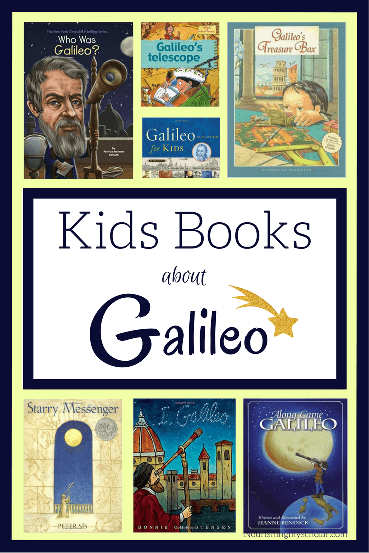 Kids Books about Galileo