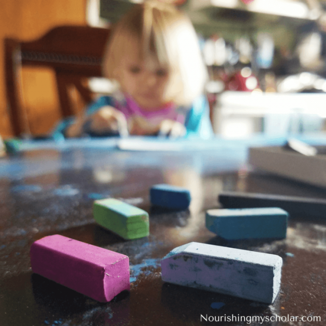 Chalk Pastels for Kids