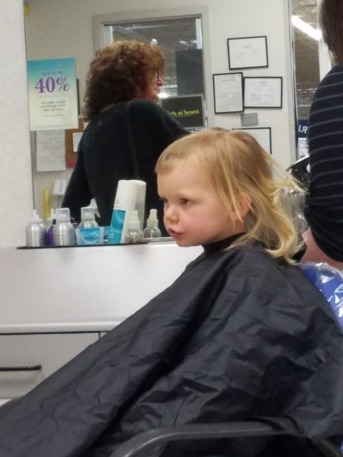 Why I Didn't Yell When My Child Gave Herself A Hair Cut