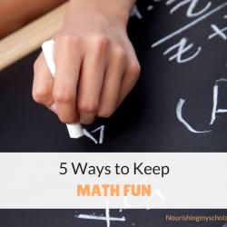 5 Ways to Keep Math Fun