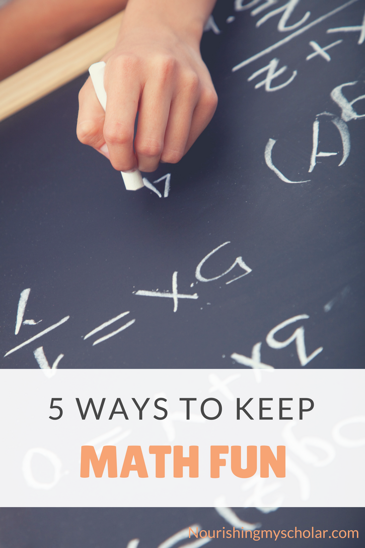 5 Ways to Keep Math Fun