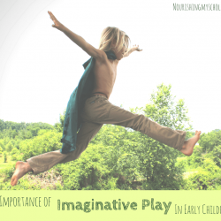 The Importance of Imaginative Play in Early Childhood
