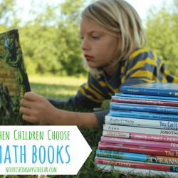 When Children Choose Math Books