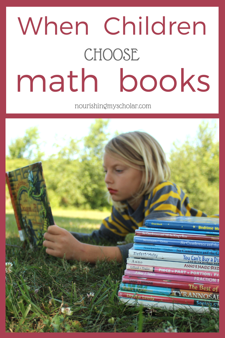 When Children Choose Math Books: Teach kids of all ages their math facts with these favorite math books. Learning and encouraging math really can be as easy as reading an engaging kids book #homeschool #math #parenting #homeschooling #kidlit #childrensbooks #mathbook #picturebooks #kidsbooks