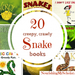 20 Creepy Crawly Snake Books