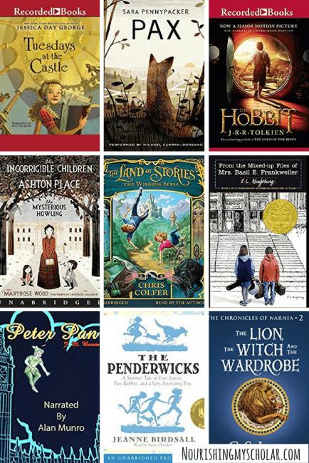 70 Favorite Audio Books For Kids ~ Nourishing My Scholar