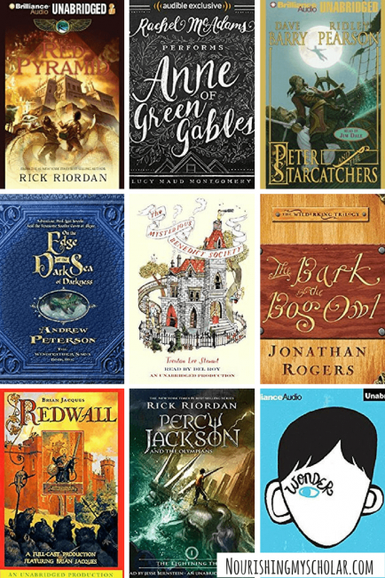 70 Favorite Audio Books For Kids
