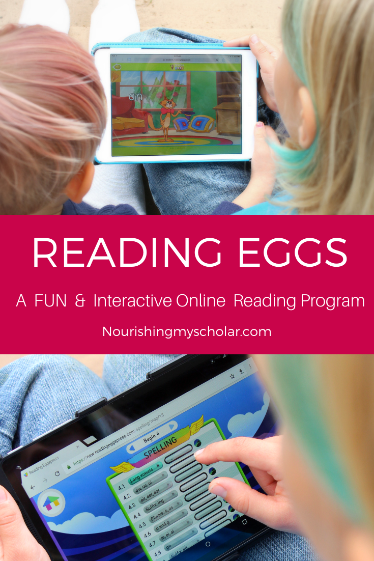 Reading Eggs: A Fun & Interactive Online Reading Program - Does your child want to learn to read? Perhaps they are already reading and need a little extra practice. I invite you to check out Reading Eggs online or through their App! #onlinelearning #readingeggs #reading #read #kidslearning #educationalgames #onlinereading #homeschool #homeschooling