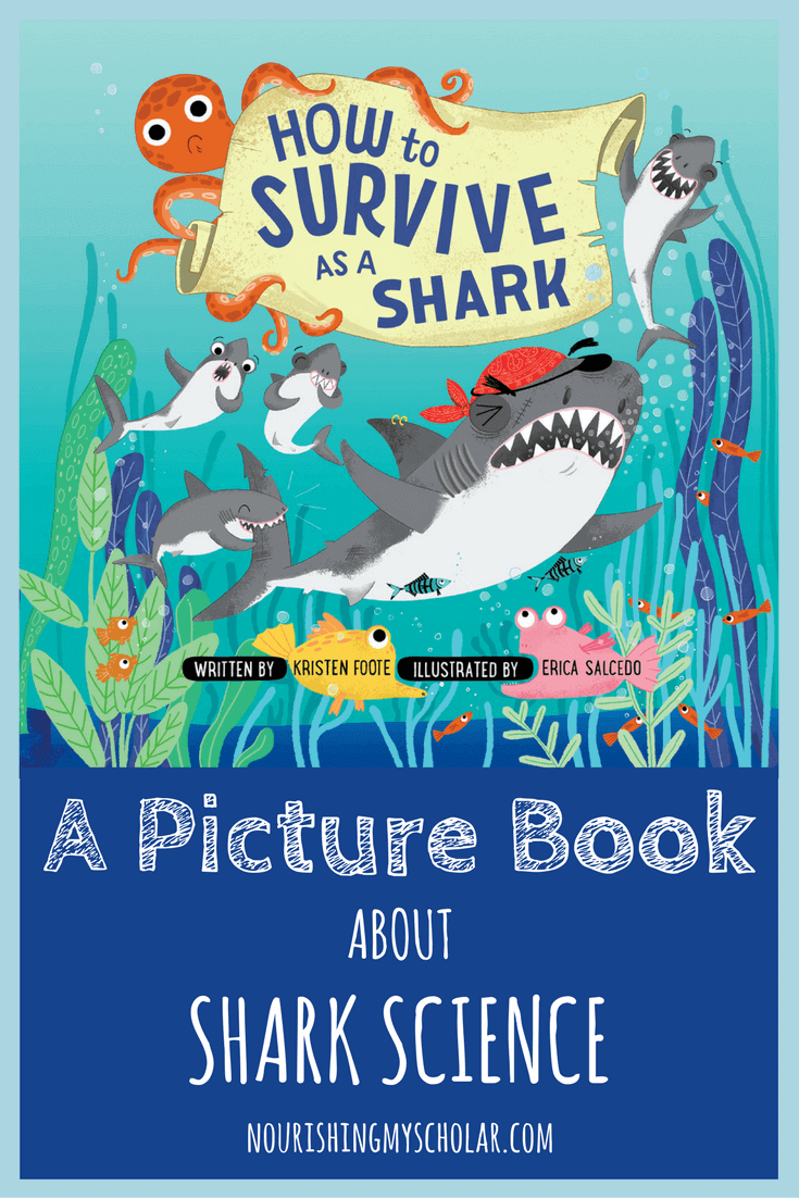 A Picture Book About Shark Science