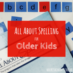 All About Spelling for Older Kids