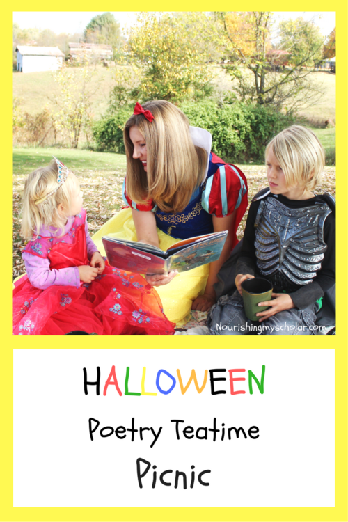 Halloween Poetry Teatime Picnic