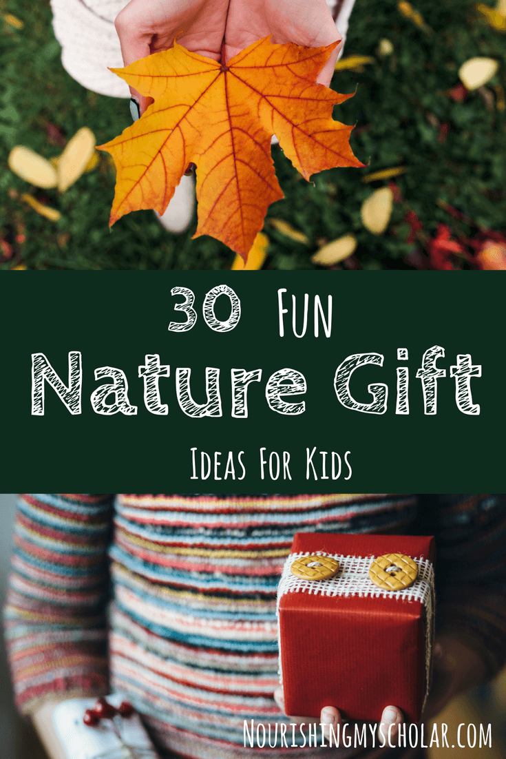 30 Fun Nature Gift Ideas for Kids: Do you have a family of nature lovers? If you are looking for fun and engaging nature gift ideas, then I have got some fantastic gift ideas for you!#Christmas #Christmasgifts #funnaturegifts #giftguide #giftideas #naturalistgifts #nature #naturegifts #natureiftsforkids #naturestudy