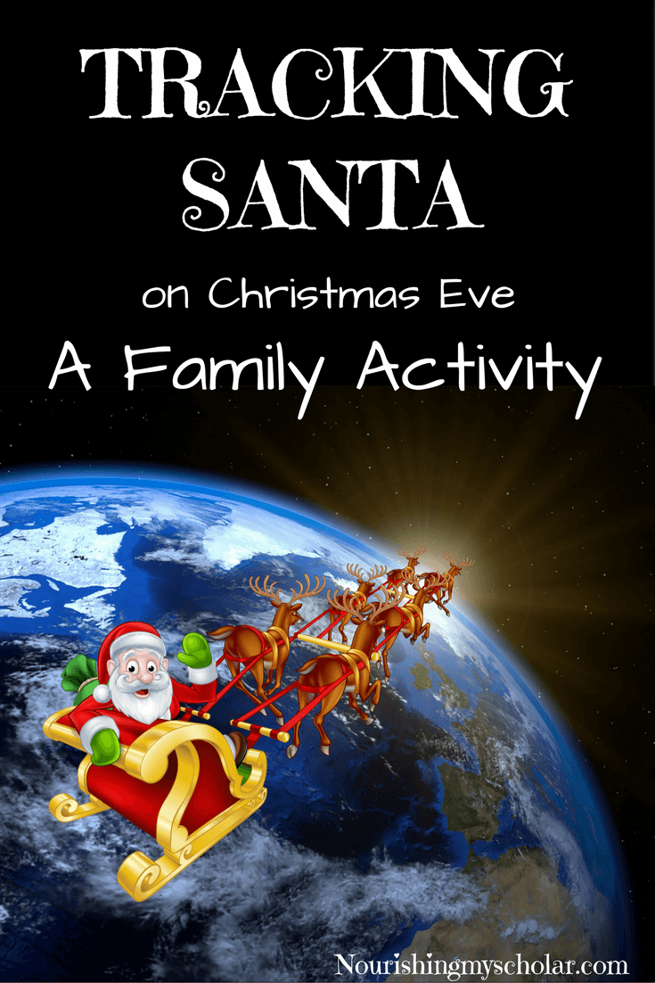Tracking Santa: A Family Activity