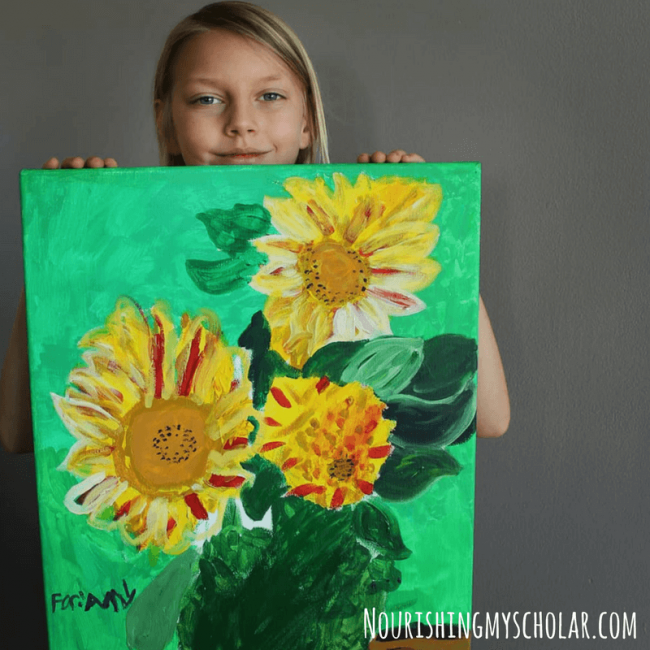 Incorporating Art into our Homeschool: Mixing with the Masters