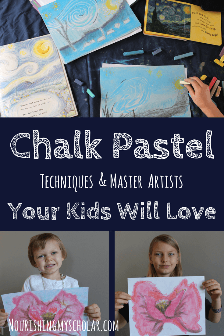 Chalk Pastel Techniques and Master Artists