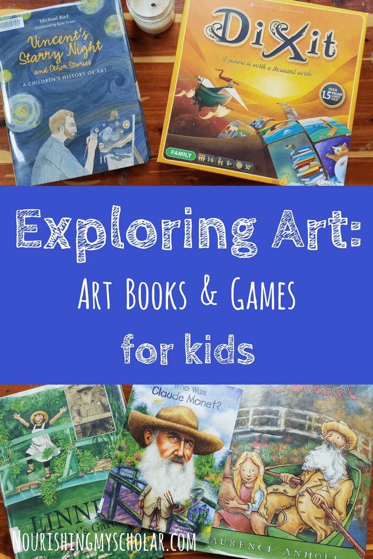 Exploring Art: Art Books and Games for Kids