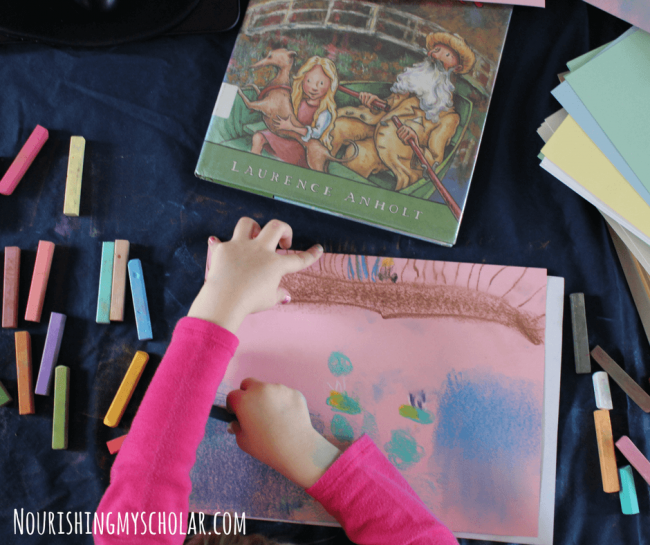 Chalk Pastel Techniques and Master Artists Your Kids Will Love