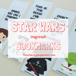 image regarding Star Wars Bookmark Printable named star wars bookmarks printable Archives ~ Nourishing My College student