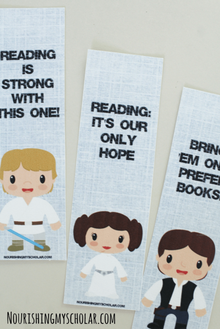 Star Wars Inspired Bookmarks