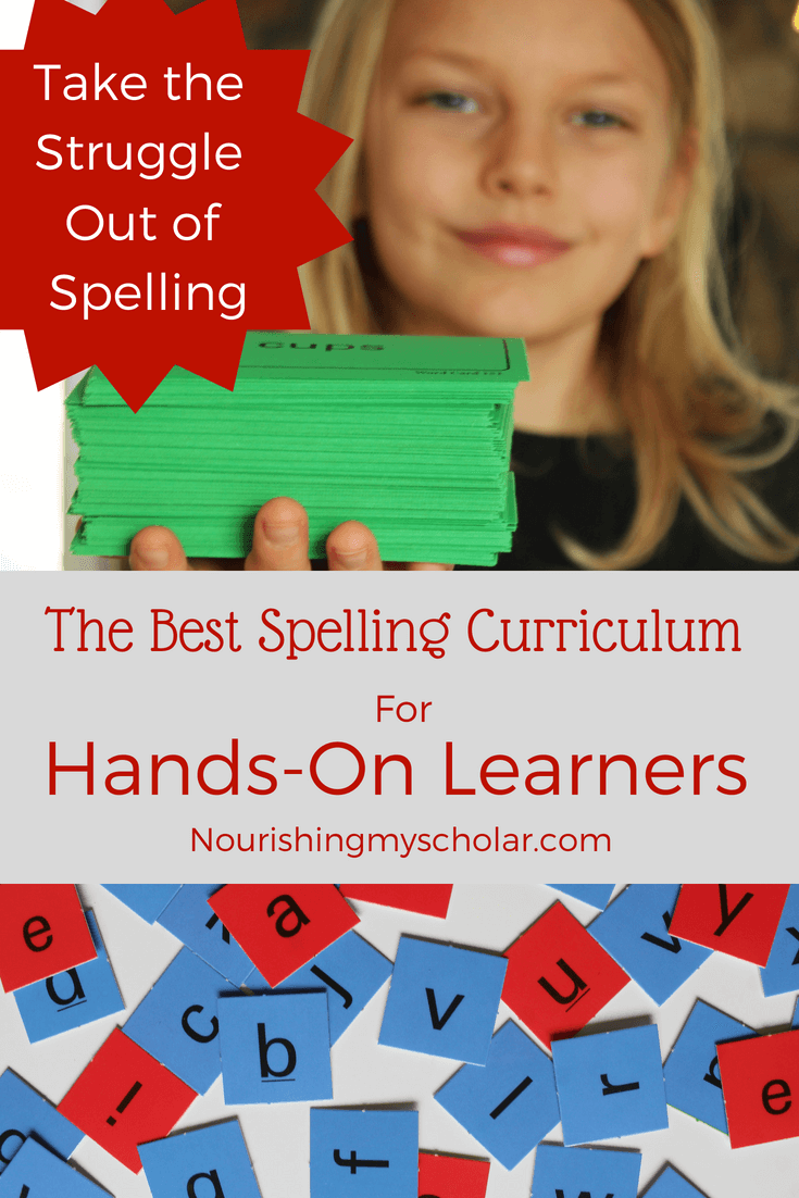 The Best Spelling Curriculum for Hands-On Learners