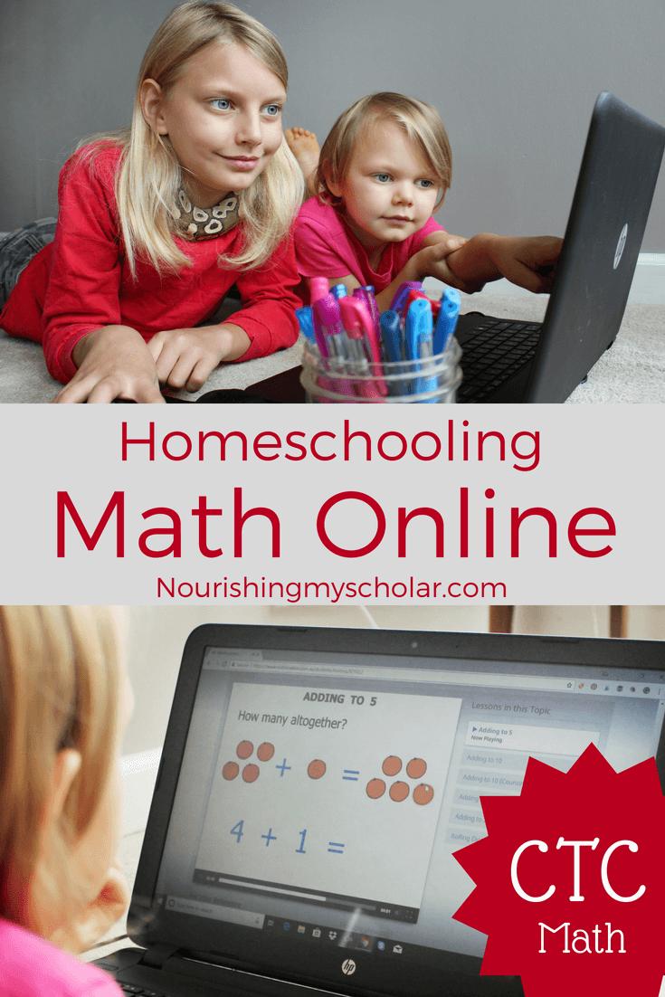 Homeschooling Math Online: CTC Math